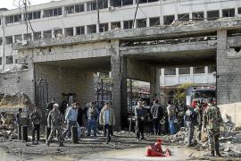 Un doble atentado suicida en Damasco causa más de 40 muertos