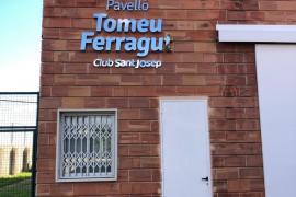 Tomeu Ferragut ya da nombre al pabellón de Sant Josep Obrer