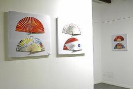 Los abanicos cobran una dimensión artística en una colectiva en Sencelles