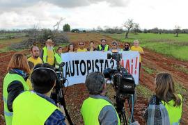 La Plataforma Antiautopista tilda de «farsa» la modificación del proyecto Llucmajor-Campos y convoca una marcha el 23 de diciembre