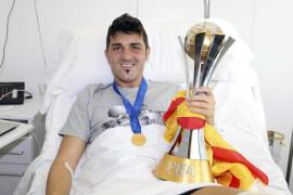 David Villa recibe el alta hospitalaria
