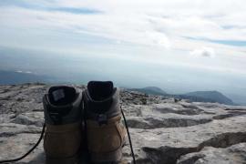 En la cima del Tomir