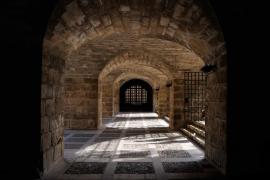 S´hort del Rei (Debajo del Palacio de la Almudaina, en Palma)
