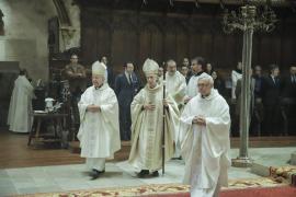Ladaria oficia su primera misa en la Seu tras ser nombrado cardenal