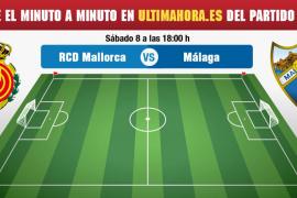 Real Mallorca-Málaga, en directo