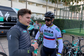 Peter Sagan elige de nuevo Mallorca para preparar la temporada 2019