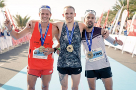 Tòfol Castanyer, tercero en el Lanzarote Marathon