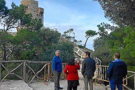 El Consell restaurará la Torre de ses Ànimes tras meses de quejas por su mal estado