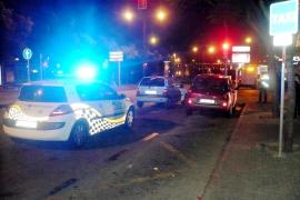 Detenida una conductora ebria tras una persecución por las calles de Palma