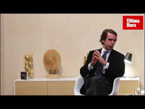 Aznar urge en Palma a «desarticular» el secesionismo catalán con un 155 más severo