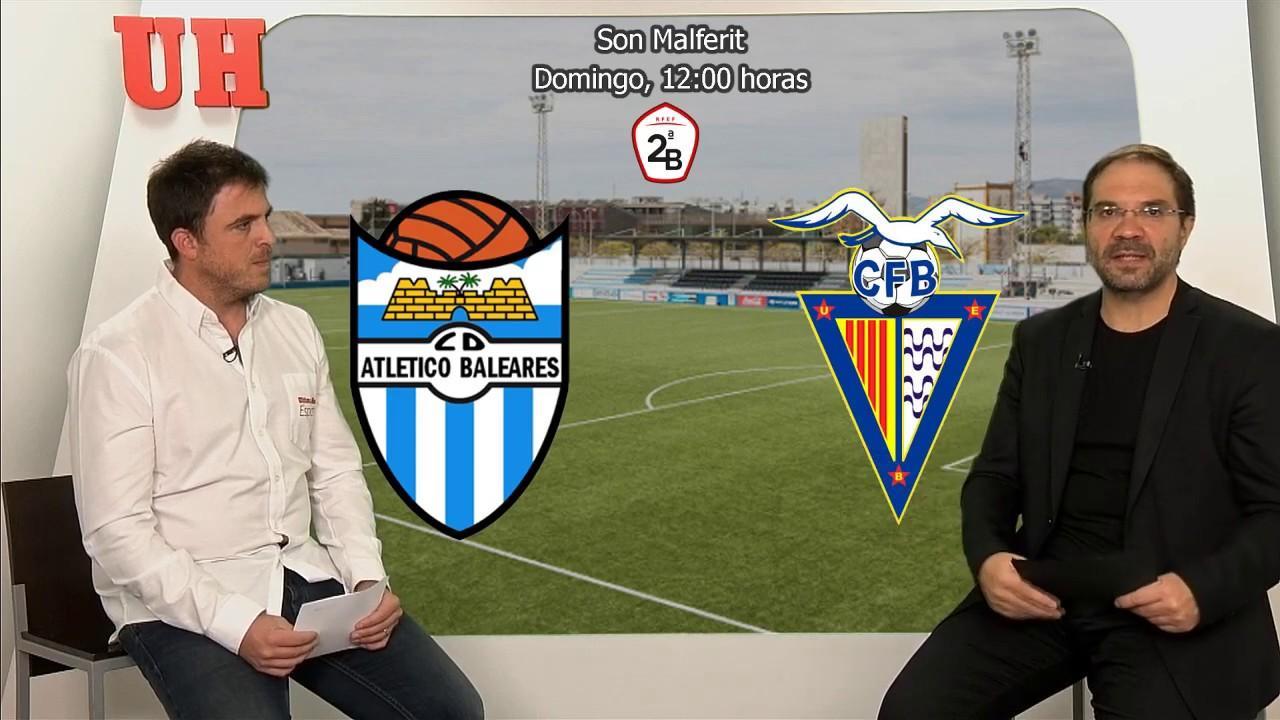 El Atlético Baleares busca aumentar su colchón de puntos ante el Badalona