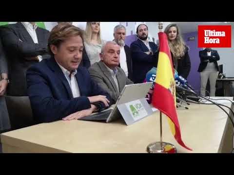 Fulgencio Coll, candidato de ACTUA-VOX en Palma: «Renunciaré al sueldo de alcalde»