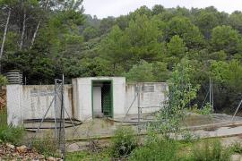 El depósito de agua de Biniamar es ilegal y está ubicado en una ANEI