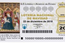 Impreso un número equivocado de la Lotería de Navidad