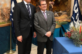 BBVA inaugura el belén de Sant Antoniet en Palma