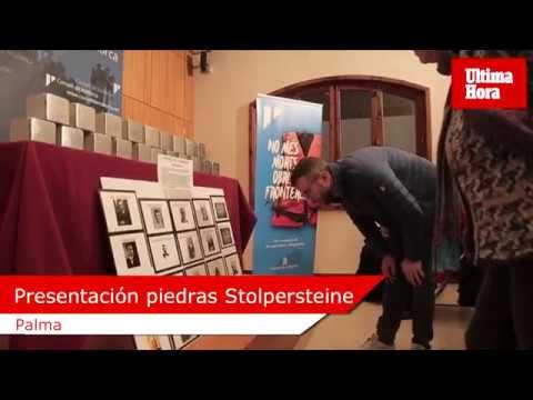 Emotiva presentación de la colocación de 20 'piedras de la memoria' Stolpersteine