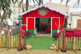 Papá Noel tendrá una copia de su casa en la Plaza del Parque de Ibiza