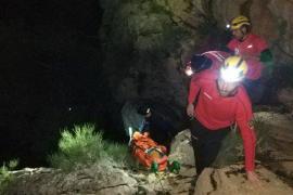 Rescatada una mujer en Escorca