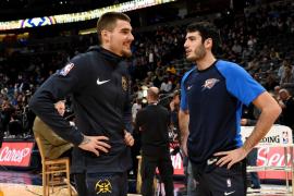 Juancho Hernangómez se lleva el duelo español de la NBA ante Álex Abrines