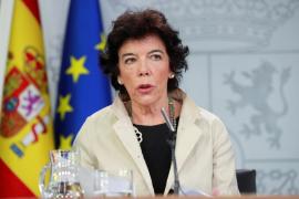 Celaá, sobre el Consejo de Ministros en Barcelona: «No tenemos nervios»