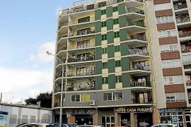 Detenidas dos personas por lanzar a otra desde un balcón de un tercer piso de Palma