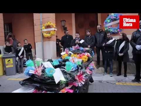 Funeral del plástico en Palma