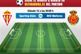 Sporting-Real Mallorca, en directo