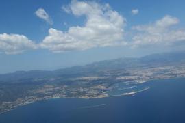 Este domingo aumento de temperaturas en Baleares