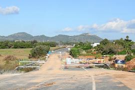 La carretera de Porto Cristo a Son Servera cerrada por la riada se abrirá a final de año