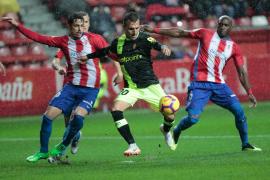El Sporting maniata al Mallorca