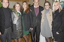 Cena de Navidad de afiliados del PP en Es Molí des Comte