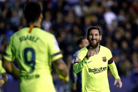 Messi aniquila al Levante