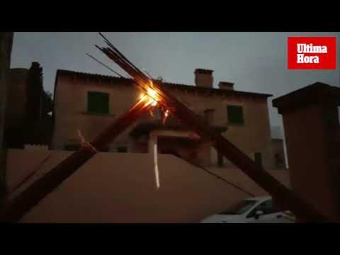 Capdepera vibra al calor del fuego en la recuperación de la tradición del 'Alei alei'