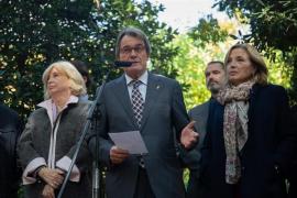 El Tribunal Supremo rebaja la inhabilitación de Mas por el 9-N a un año y un mes