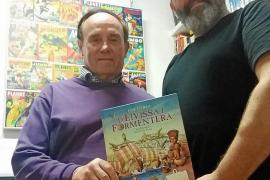 La historia de las Pitiusas en 64 páginas de novela gráfica