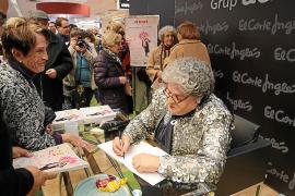 Una sabrosa firma de libros