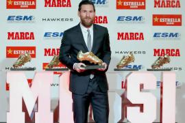 Messi recibe su quinta Bota de Oro: «Amo el fútbol, pero nunca imaginé tanto»