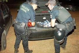 Detenido en Porto Cristo un conductor ebrio que circulaba por el carril contrario a gran velocidad