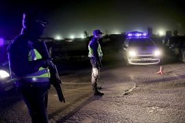La Policía Nacional levanta el cerco a Son Banya, que ha durado dos semanas