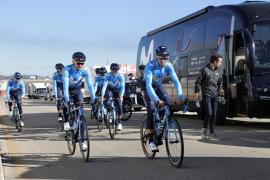 Movistar Team, con Alejandro Valverde, participará en la Vuelta a Mallorca