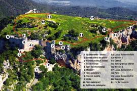La propiedad de Santueri presenta al Consell un itinerario para abrir el castillo