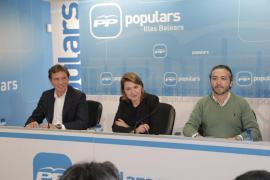 Mateo Isern se compromete a «trabajar para que el PP lidere el cambio»