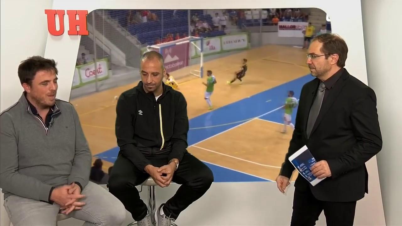 Antonio Vadillo pasa revista a la temporada del Palma Futsal