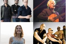 Celtas Cortos, Mishima, Brisa Fenoy y Kiko Veneno, en la Revetla 2019