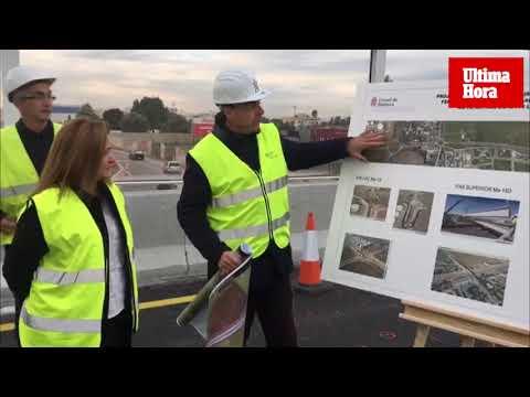 Abierto al tráfico el nuevo puente de la antigua carretera de Manacor