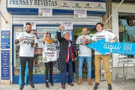 Los residentes de Baleares juegan 45,8 millones a la Lotería de Navidad