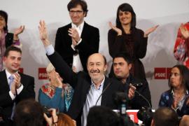 Rubalcaba se postula para liderar el PSOE
