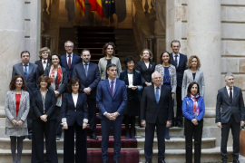 Reunión del Consejo de Ministros en Barcelona