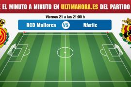 Real Mallorca-Nàstic, en directo
