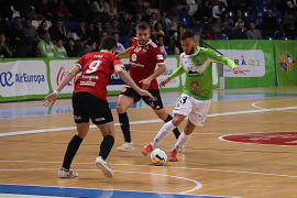 El Palma Futsal cierra el año con una derrota (2-5)
